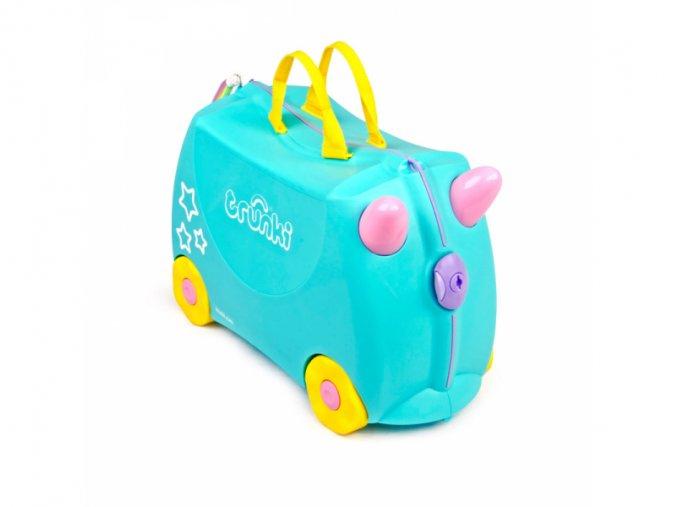 Dětský kufr odrážedlo Trunki, Jednorožec