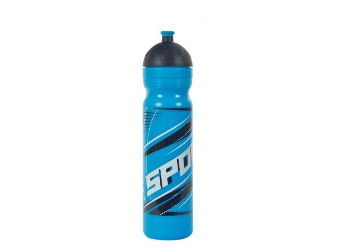 Zdravá lahev Sport modrý 1,0 l