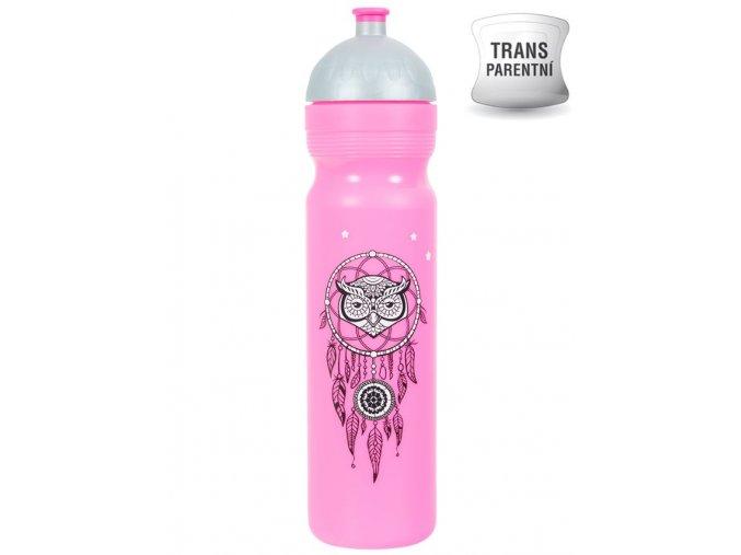 Zdravá lahev Lapač snů 1,0 l, růžová