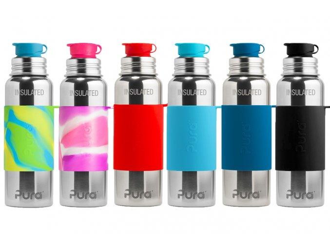 Pura® TERMO láhev se sportovním uzávěrem 650 ml