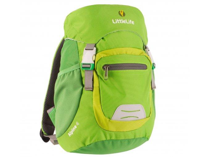 L12213 alpine kids backpack green 1a