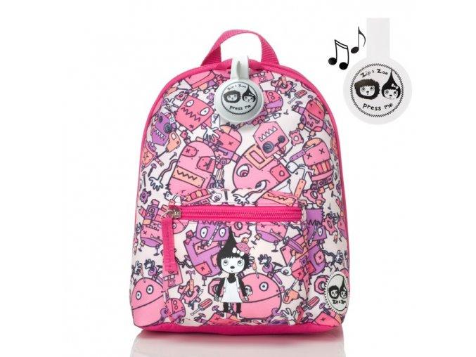 Robot Pink batoh malý 1
