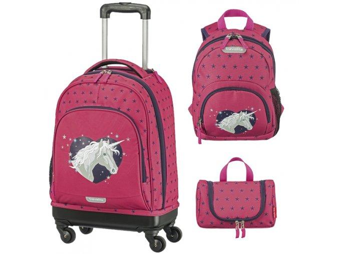 kufr travelite jednorožec