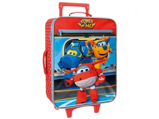 Cestovní kufr Super Wings 50 cm
