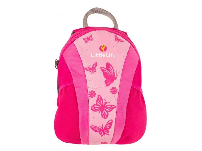 Dětský batoh littleLife růžový 4