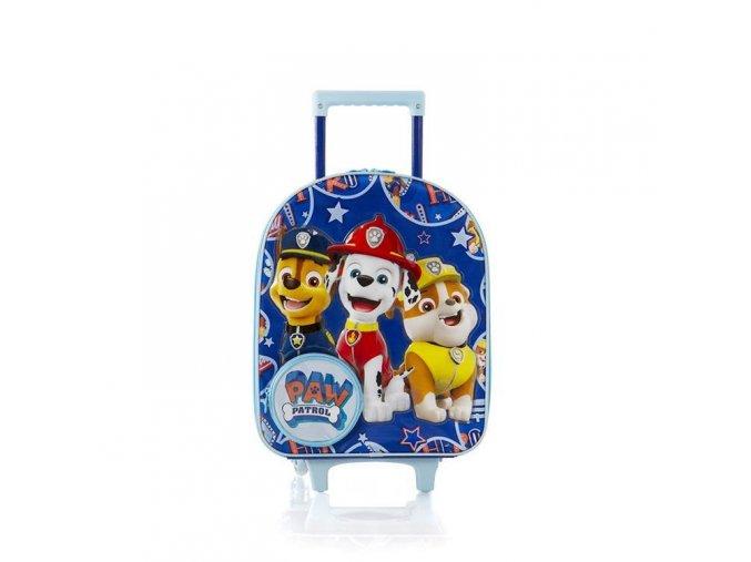 Dětský kufr Tlapková patrola, modrý