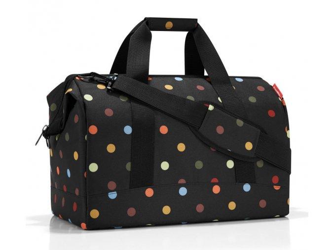 Dámská cestovní taška REISENTHEL puntík