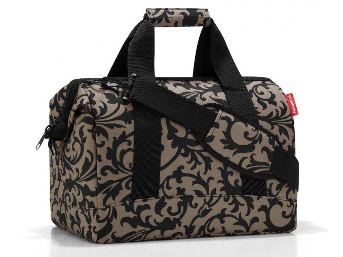 cestovní taška ve tvaru doktorského kufříku. REISENTHEL