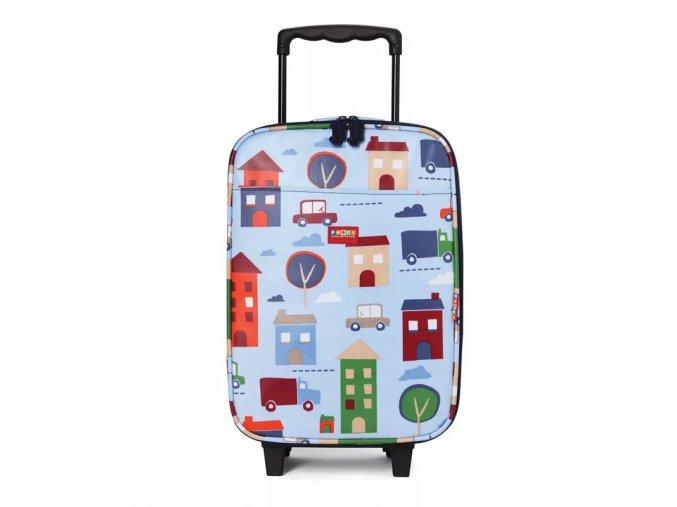 Dětský cestovní kufr - město