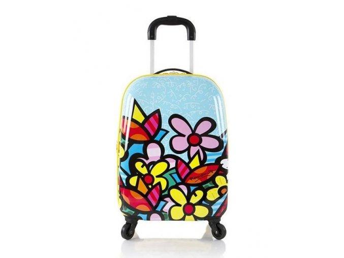 Dětský kufr HEYS BRITTO Květiny