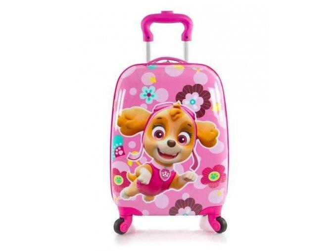 Dětský kufr heys tlapková patrola pro holky