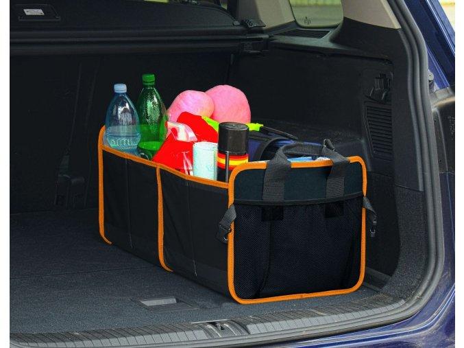 Organizér do kufru dvojitý 54x34cm 8