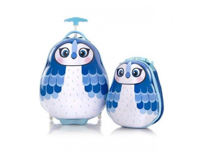 Sada kufru a batohu HEYS TRAVEL TOTS KIDS BLUE JAY