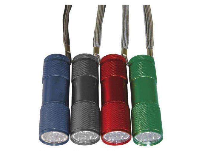 Kovová LED baterka