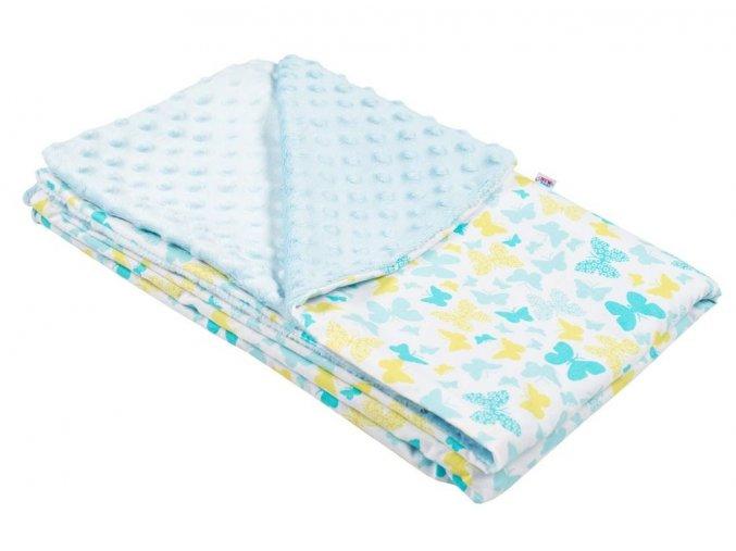 Dětská deka z Minky New Baby0