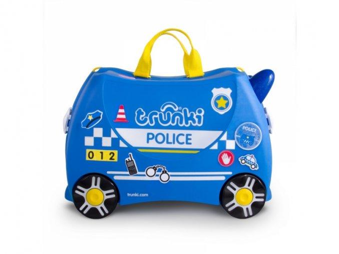 TRUNKI kufřík a odrážedlo Policejní auto Percy