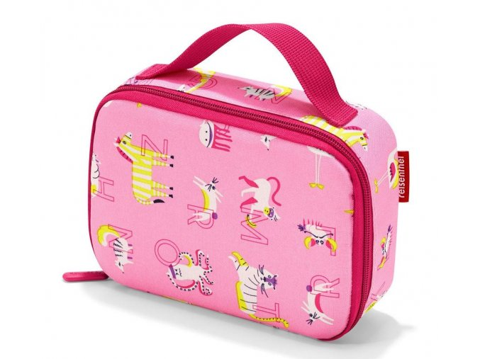 dětská termotaška na jídlo abc friends pink