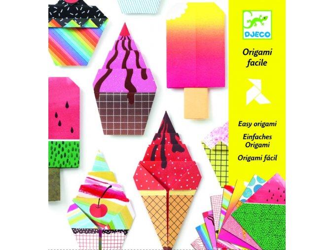 Origami Sladké dobroty, nanuk, zmrlina