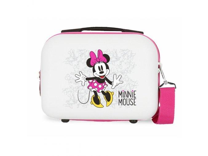 Cestovní ABS kabelka Minnie Enjoy the Day