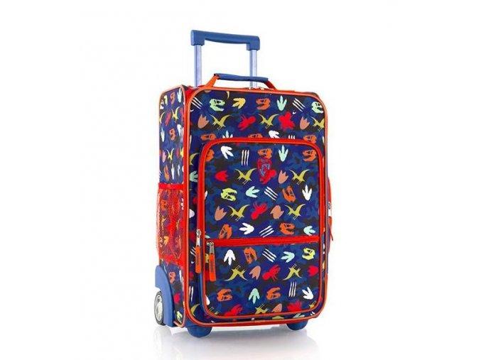 Dětský textilní kufr HEYS dinosauři