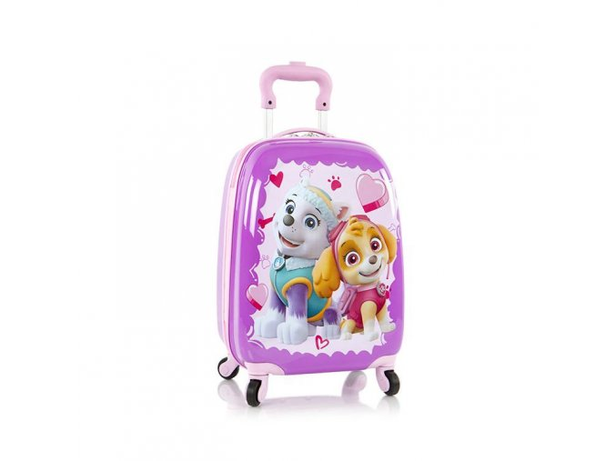 Dětský kufr HEYS KIDS Tlapková patrola 4W