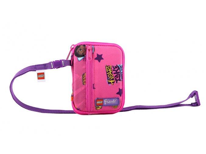 LEGO Friends Good Vibes - cestovní peněženka růžová holčičí