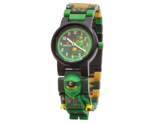Dětské hodinky LEGO Ninjago Lloyd, zelený ninja