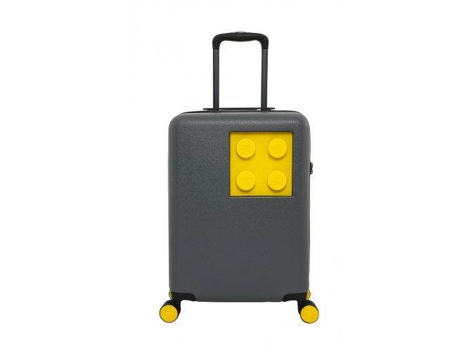 LEGO kufr URBAN - Tmavě šedý/Žlutý, 40 l