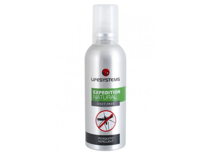 Repelent Natural Mosquito Repellent; 100ml  Lifesystems