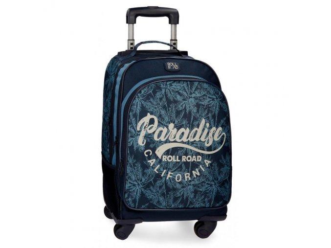 Cestovní kufr / batoh na kolečkách Roll Road Palm pro kluky