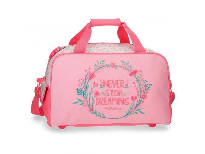 Holčičí sportovní taška movmom růžová