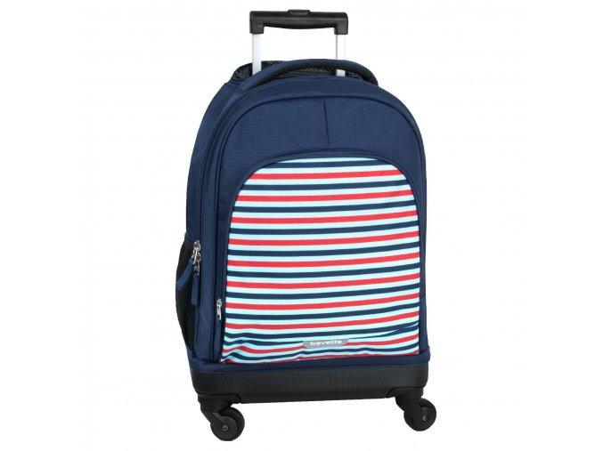 Dětský kufr Travelite 4W STRIPES pruhy