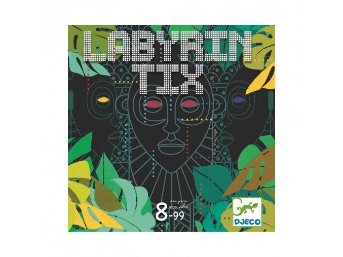 společenská hra Labyryntix aneb zrádný labyrint djeco