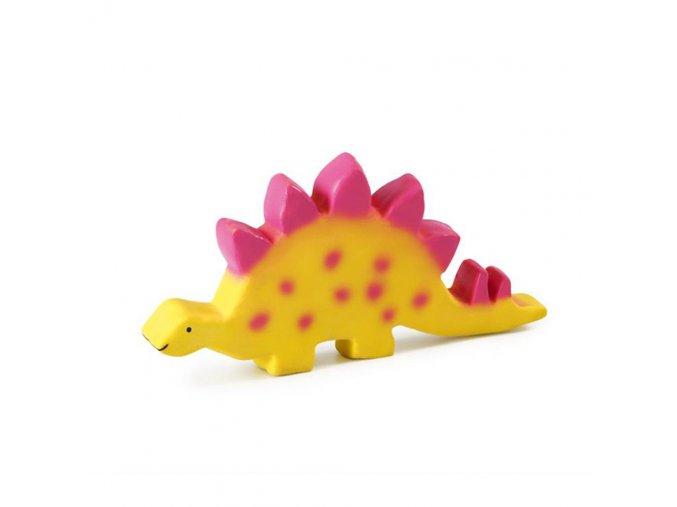 Tikiri Baby dinosaurus z přírodního kaučuku - stegosaurus