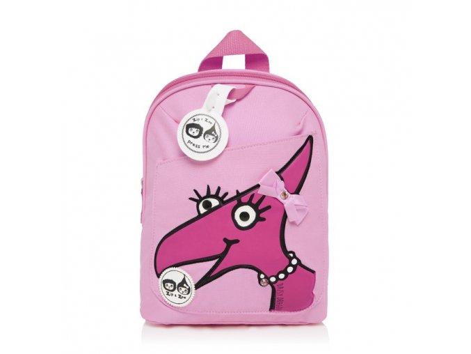 Dětský batůžek pro nejmenší děti 1 rok, 2 roky, 3 roky, růžový