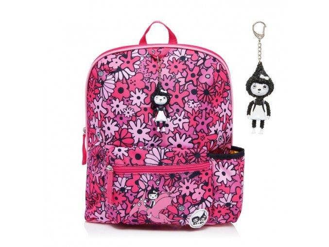 Floral Pink batoh velký P