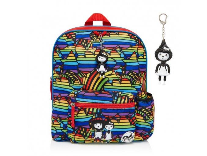 Rainbow batoh velký P
