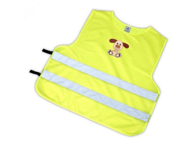 Dětská reflexní vesta s obrázkem