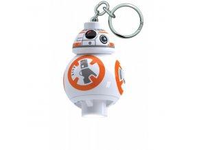 LEGO Star Wars BB8 svítící figurka přívěsek na klíče