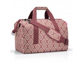 Cestovní taška ve tvaru doktorského kufriku REISENTHEL diamonds rounge