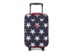 Dětský cestovní kufr - hvězdy
