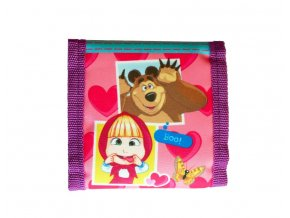 Dětská peněženka Máša a Medvěd