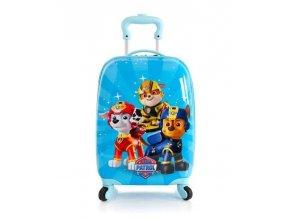 dětský kufr HEYS Tlapková patrola, 4 kolečka
