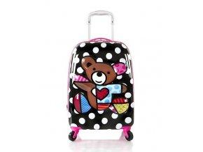 Dětský kufr HEYS BRITTO 3D TEDDY BEAR