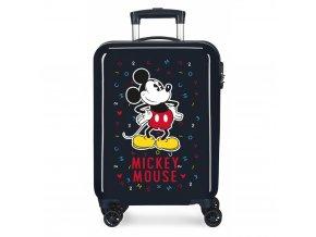 Cestovní kufr Mickey Mouse černý 01