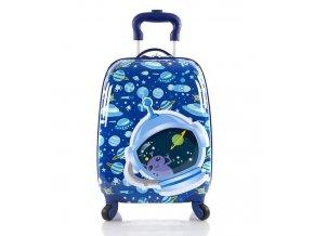 Dětský skořepinový kufr vesmír