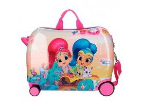 Dětský kufřík na kolečkách Shimmer a Shine