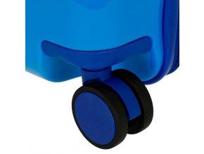 Dětský kufr odrážedlo spiderman červený 01