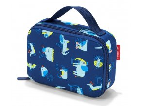 Dětská termo taška REISENTHEL na svačinu ABC modrá