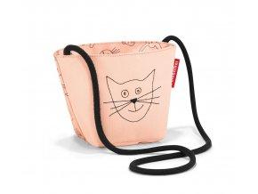 růžová taštička kabelka dětská